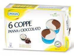 MPK 6 coppe panna e cioccolato