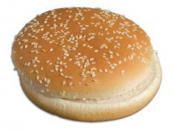 Pane hamburger con sesamo