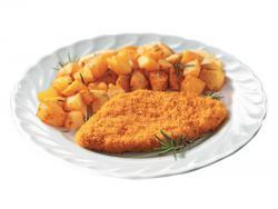 Cotoletta con patate via col gusto